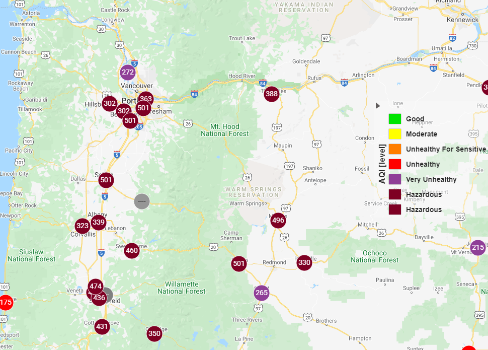 Poor air quality lingers in Whatcom County